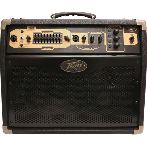 Peavey Ecoustic E110 Acoustic Guitar Combo Amplifier with Footswitch
