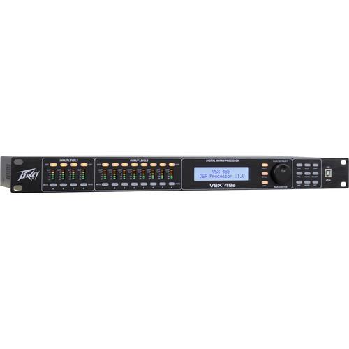 Peavey VSX 48e Programmable Loudspeaker Management System (1 RU, 4 Inputs, 8 Outputs)