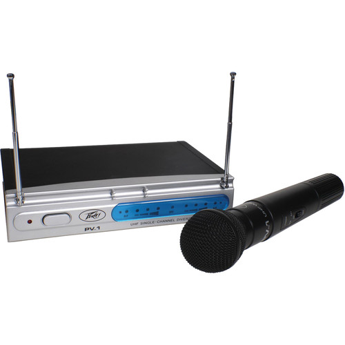 Peavey PV-1 Single Channel Diversity Handheld Wireless System (923.700 MHz)