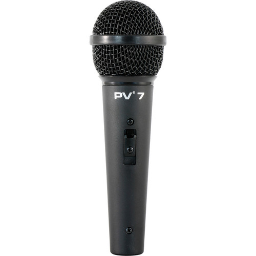 "Peavey PV 7 Microphone with 1/4"" to XLR 16.4' Mic Cable"