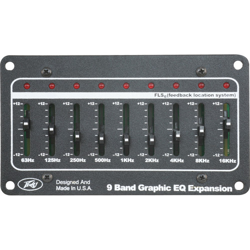 Peavey 9-Band Graphic EQ Expansion Module