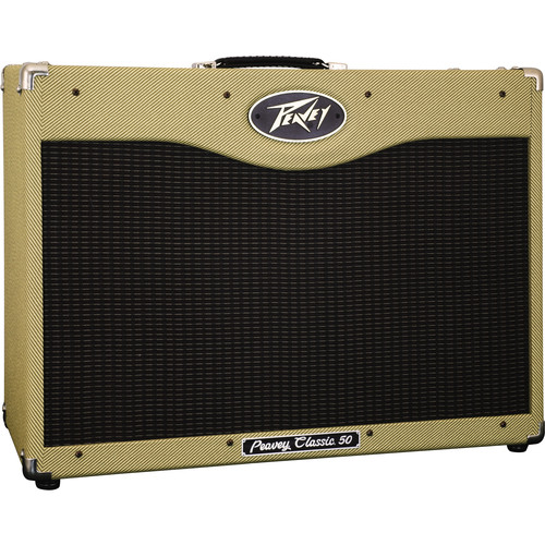 "Peavey Classic 50 212 Tube Guitar Amplifier (50 W, 2 x 12"" Speakers)"