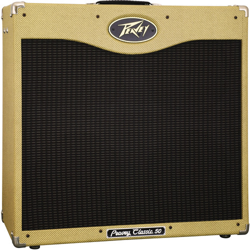 "Peavey Classic 50 410 Tube Guitar Amplifier (50 W, 4 x 10"" Speakers)"