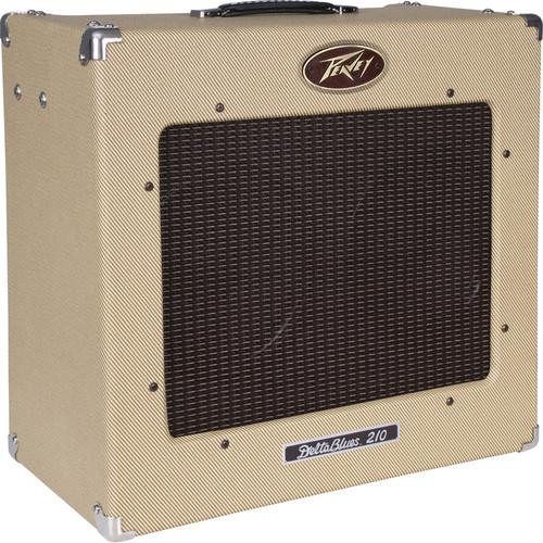 "Peavey Delta Blues 210 Tweed Tube Guitar Amplifier (30 W, 2 x 10"" Speakers)"