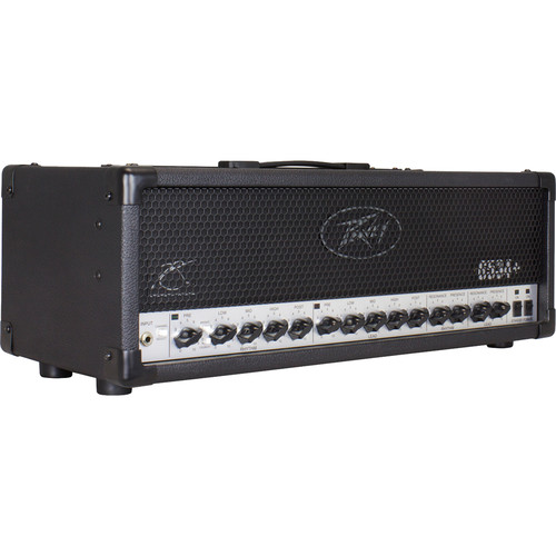 Peavey 6534+ 2-Channel 120W Tube-Driven Amplifier Head for Electric Guitars