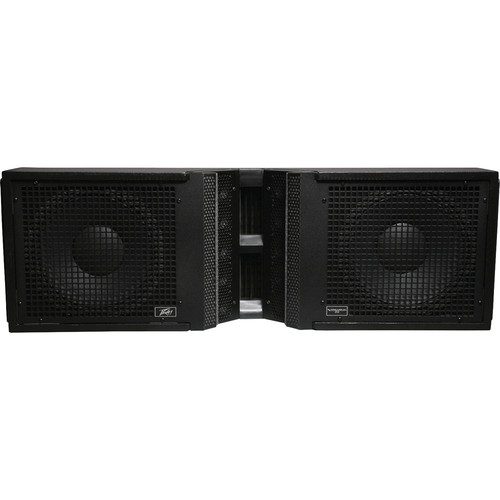 "Peavey Versarray 212 3-Way Ribbon Tweeter Line Source Array Loudspeaker with Dual 12"" Woofers"