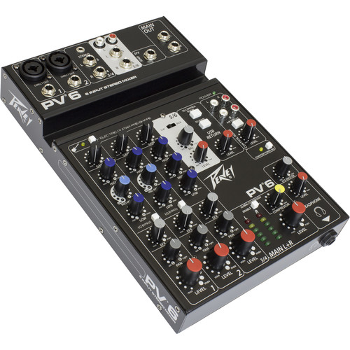 Peavey PV 6 Mixing Console