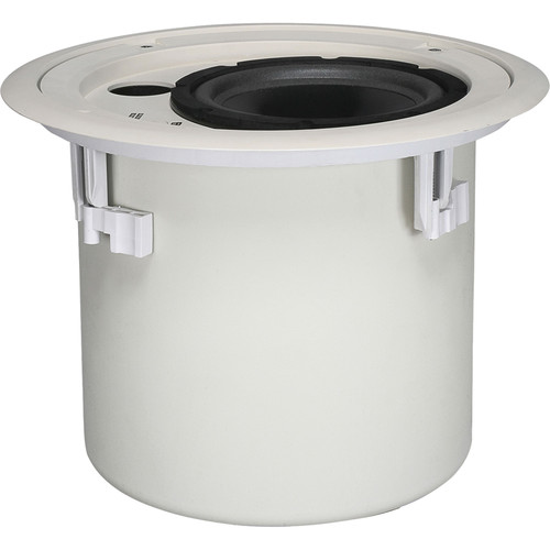 "Peavey In-Ceiling 8"" Recessed Subwoofer with Hardware (Pair, White)"