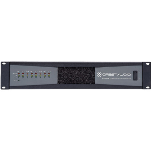 Crest Audio CM 2208 8-Channel Professional Installation Amplifier