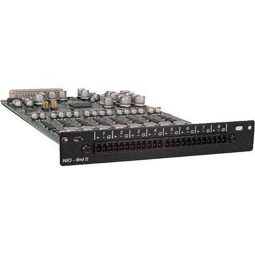 MediaMatrix MediaMatrix NIO-8ml II Microphone/Line Level Input Card