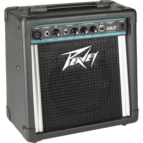 Peavey Solo Portable Battery-Powered PA System with AC Adapter Kit