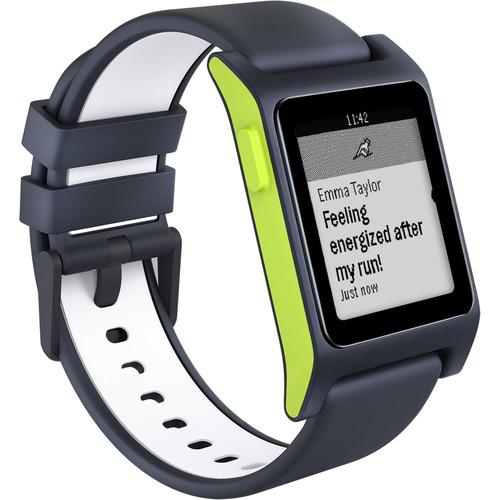 Pebble 2 HR Smartwatch (Black/Lime)