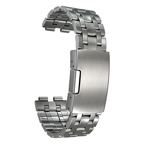 Pebble Brushed Stainless Band for Pebble Steel Smartwatch