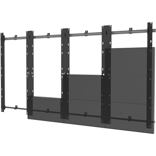Peerless-AV 4x4 Flat Video Wall Mount for Absen Acclaim, Acclaim Plus, Acclaim Pro, and Icon (Black)