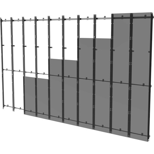 Peerless-AV 10x5 Flat Video Wall Mount for Samsung IFH SMART LED Signage Displays (Black)