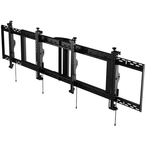 "Peerless-AV SmartMount Digital Menu Board Ceiling Mount with 8-Point Adjustment for 40 to 42"" Displays (2x1 Configuration)"