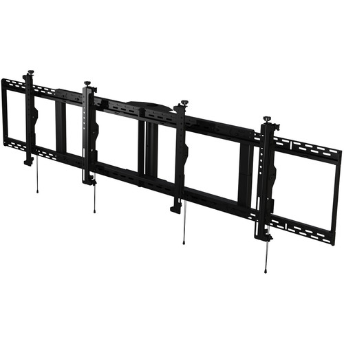 "Peerless-AV SmartMount Digital Menu Board Ceiling Mount with 8-Point Adjustment for 46 to 48"" Displays (2x1 Configuration)"