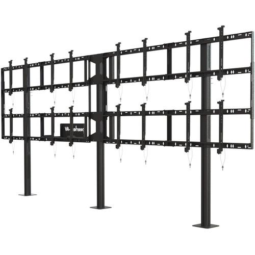 "Peerless-AV Modular Video Wall Pedestal Mount for 46 to 55"" Displays (4x2 Configuration)"