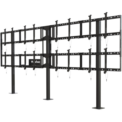 "Peerless-AV Modular Video Wall Pedestal Mount for 46 to 55"" Displays (4x2 Configuration)"