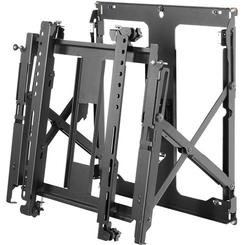 "Peerless-AV Full-Service Quick-Release Thin Video Wall Mount for 40 to 65"" Displays"