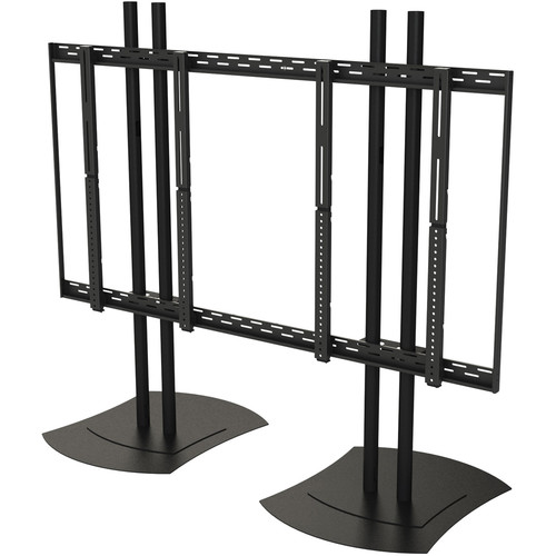 """Peerless-AV Floor Stand Video Wall Mount for 40 to 46"""" Displays (2x2 Configuration)"""