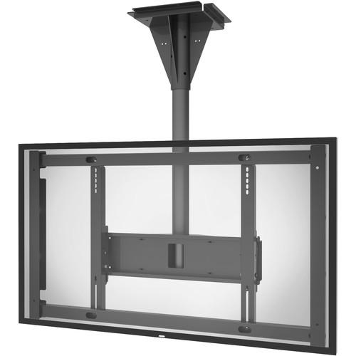 Peerless-AV Outdoor Landscape/Portrait Concrete Ceiling Mount for the Samsung OH55F (3' Drop)