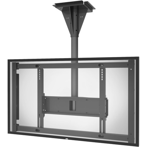 Peerless-AV Outdoor Landscape/Portrait Concrete Ceiling Mount for the Samsung OH46F (4' Drop)
