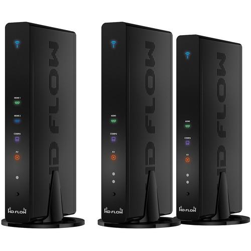 Peerless-AV HDS200-2 HD Flow Pro Wireless Multimedia Kit (Black)