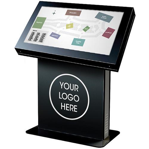"""Peerless-AV KIL540 Landscape Kiosk Enclosure for 40"""" Displays (Gloss Black)"""