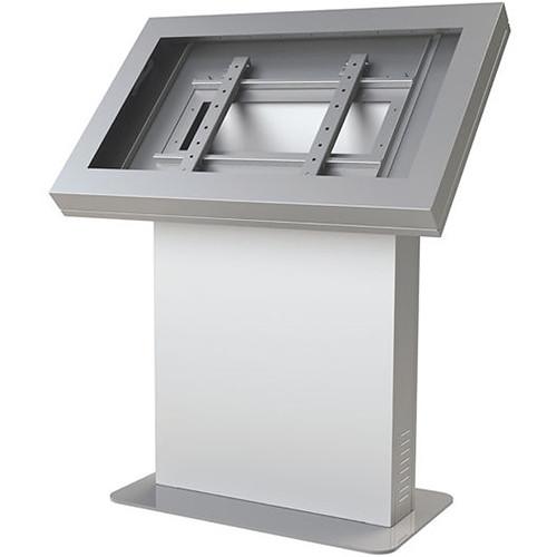 """Peerless-AV KIL543-S Landscape Kiosk Enclosure for 43"""" Displays (Silver)"""