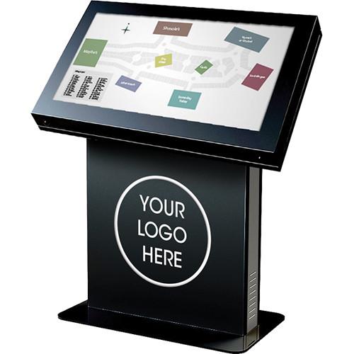 """Peerless-AV KIL546 Landscape Kiosk Enclosure for 46"""" Displays (Gloss Black)"""