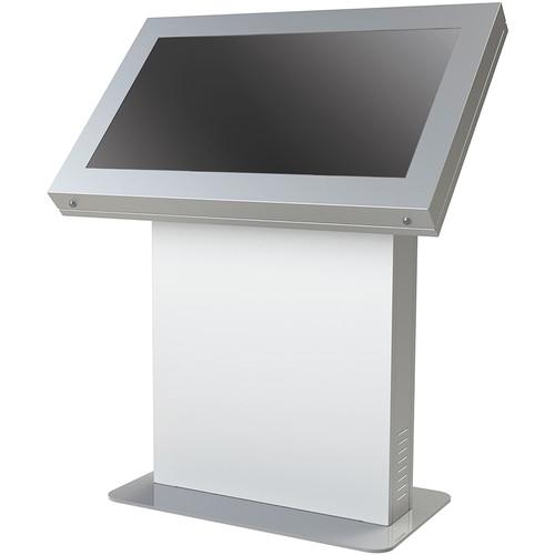 """Peerless-AV KIL48-S Landscape Kiosk Enclosure for 48"""" Displays (Silver)"""