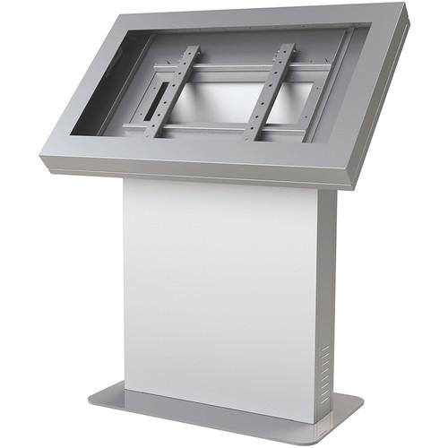"""Peerless-AV KIL555-S Landscape Kiosk Enclosure for 55"""" Displays (Silver)"""