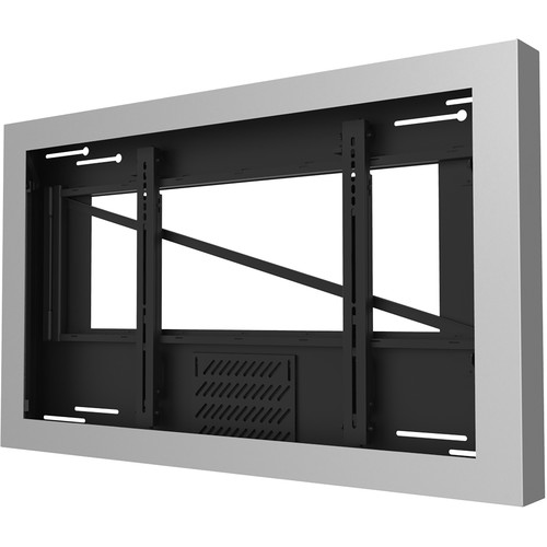 "Peerless-AV On-Wall Landscape Kiosk for 40"" Displays up to 3.5"" Deep (Silver)"