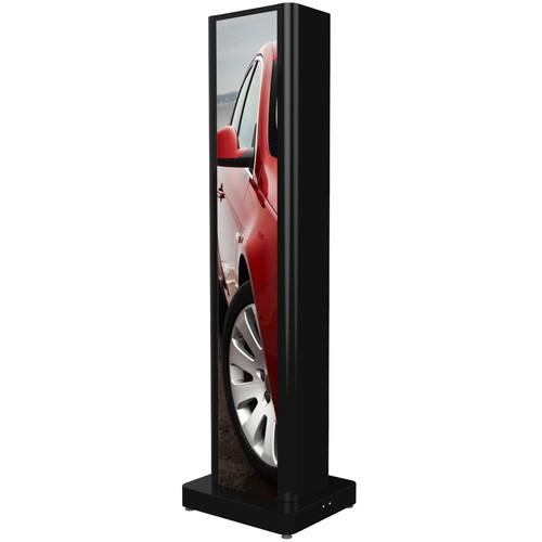 Peerless-AV One-Sided Portrait Kiosk for LG Ultra-Stretch Signage 86BH5C Display