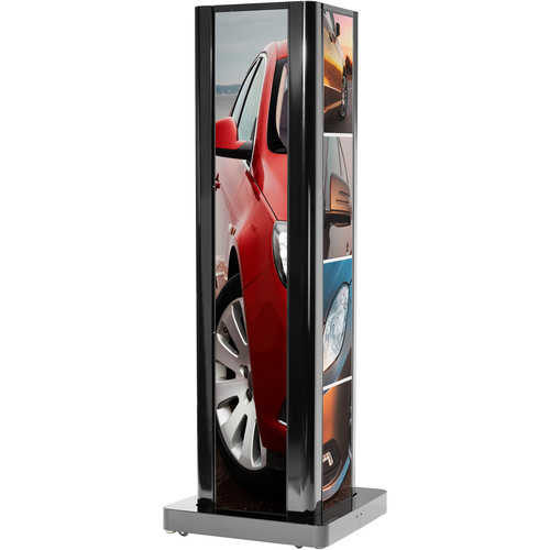 Peerless-AV Two-Sided Portrait Kiosk for LG Ultra-Stretch Signage 86BH5C Display