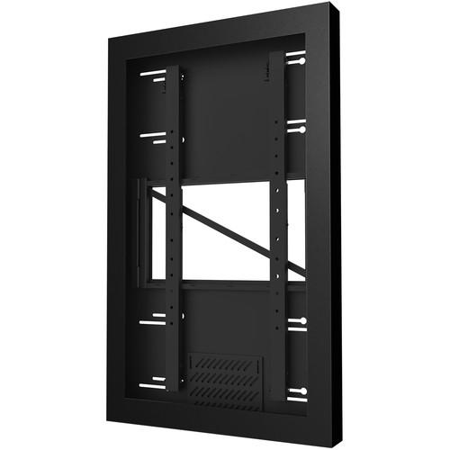 "Peerless-AV KIP646 Wall Kiosk Portrait Enclosure for 46"" Displays (Black)"