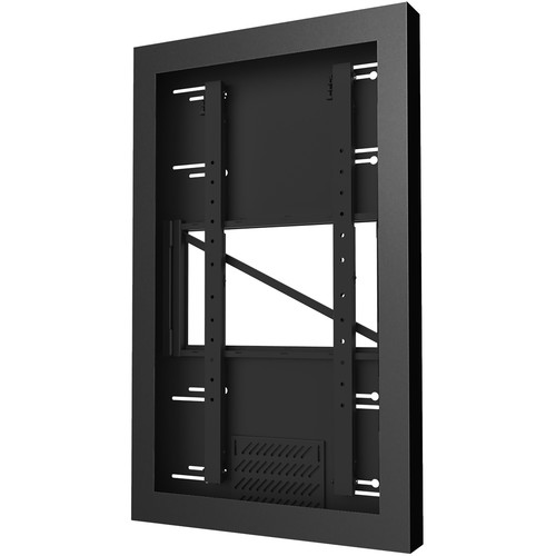 "Peerless-AV Wall Kiosk Portrait Enclosure for 49"" Displays (Black)"