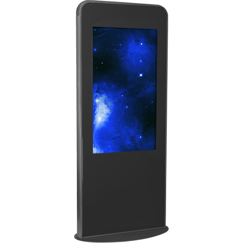 "Peerless-AV Portrait Kiosk for 49"" Display (Black)"