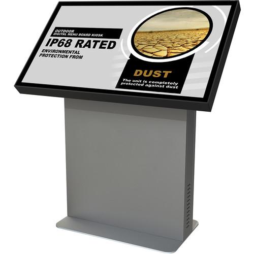 "Peerless-AV 47"" Xtreme Outdoor Landscape Kiosk with Optically Bonded Display"