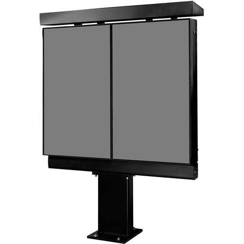Peerless-AV Xtreme Outdoor Double Digital Menu Board Kiosk (Black)