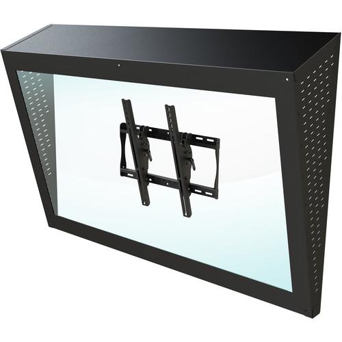 "Peerless-AV Ligature-Resistant Enclosure for 22, 26 & 32"" Displays (Black)"