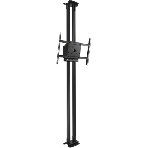 "Peerless-AV MOD-FCS2KIT300-B Modular Series Dual Pole Floor-to-Ceiling Kit for 46 to 90"" Displays (Black Poles)"