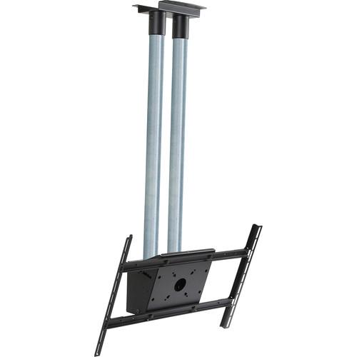 "Peerless-AV MOD-FPS2KIT150 Modular Series Dual Pole Ceiling Kit for 46 to 90"" Displays (Chrome Poles)"