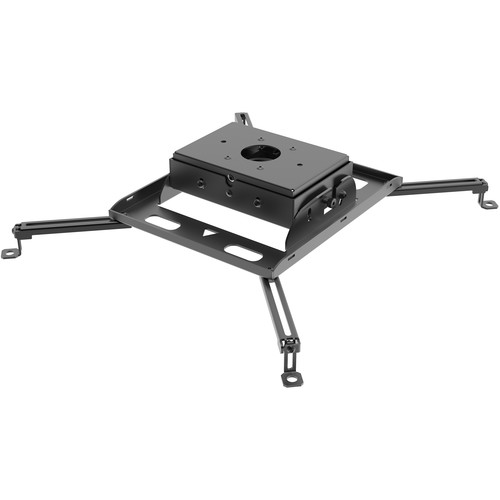 Peerless-AV Heavy Duty Universal Projector Mount (125 lb Capacity, Black)