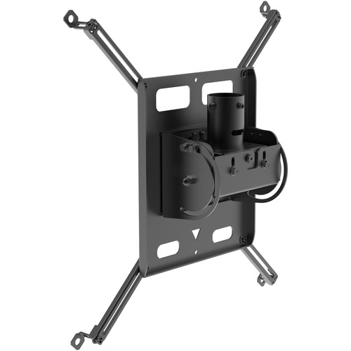 Peerless-AV Universal Portrait Projector Mount for Projectors Weighing Up to 125 lb (Black)