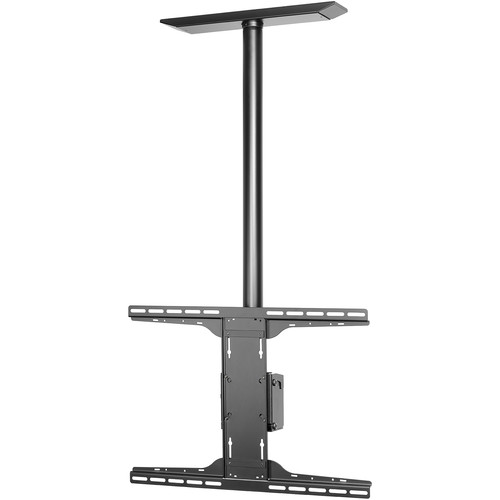 Peerless-AV PLCM-UNL-CP-AB Antimicrobial Ceiling Mount with Universal Adapter Plate and Tilt Box (Black)
