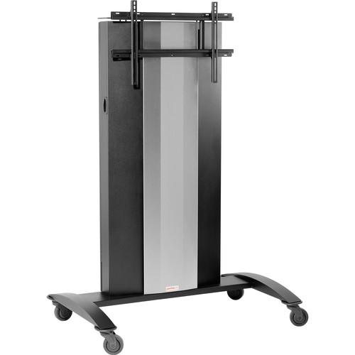 Peerless-AV SmartMount Collaboration Cart with Vertical Lift for 145 to 209lb Interactive Displays