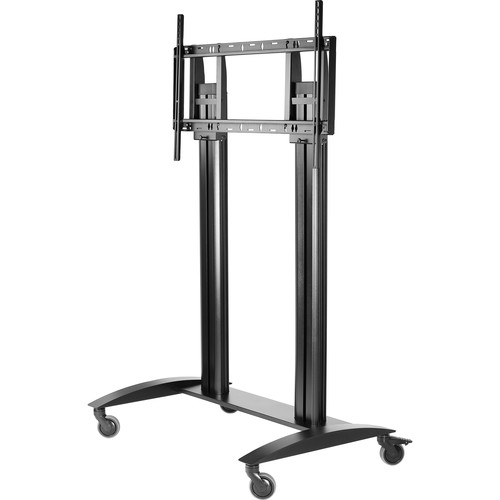 "Peerless-AV SmartMount Flat Panel Cart for 55"" to 98"" Displays (Black)"