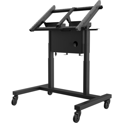 "Peerless-AV Smartmount Motorized Height Adjustable Tabletop Cart For 55"" To 80"" Interactive Displays"